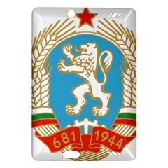 Coat Of Arms Of People s Republic Of Bulgaria, 1971 1990 Amazon Kindle Fire Hd (2013) Hardshell Case