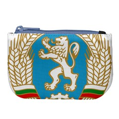 Coat Of Arms Of People s Republic Of Bulgaria, 1971 1990 Large Coin Purse by abbeyz71
