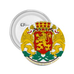 Coat Of Arms Of Bulgaria 2 25  Buttons