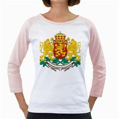 Coat Of Arms Of Bulgaria Girly Raglans