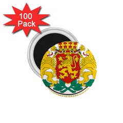 Coat Of Arms Of Bulgaria 1 75  Magnets (100 Pack)