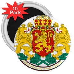 Coat Of Arms Of Bulgaria 3  Magnets (10 Pack)  by abbeyz71