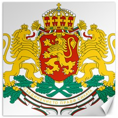 Coat Of Arms Of Bulgaria Canvas 16  X 16