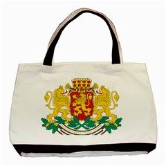 Coat Of Arms Of Bulgaria Basic Tote Bag (two Sides)