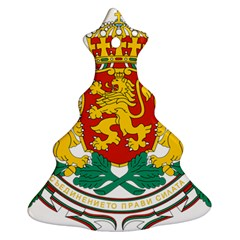Coat Of Arms Of Bulgaria Christmas Tree Ornament (two Sides)