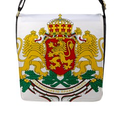 Coat Of Arms Of Bulgaria Flap Messenger Bag (l)  by abbeyz71