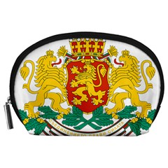Coat Of Arms Of Bulgaria Accessory Pouches (large)