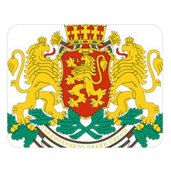 Coat Of Arms Of Bulgaria Double Sided Flano Blanket (large)