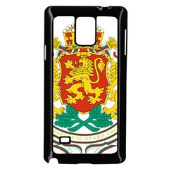 Coat Of Arms Of Bulgaria Samsung Galaxy Note 4 Case (black) by abbeyz71