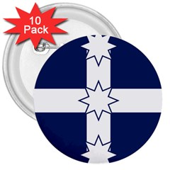 Eureka Flag 3  Buttons (10 Pack)