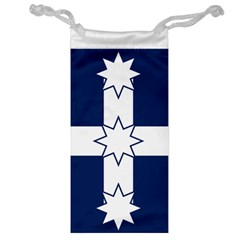Eureka Flag Jewelry Bag by abbeyz71