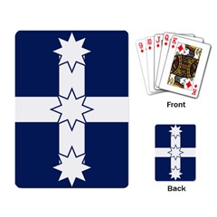 Eureka Flag Playing Card by abbeyz71