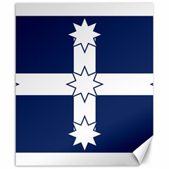Eureka Flag Canvas 20  X 24   by abbeyz71