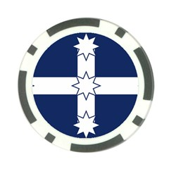 Eureka Flag Poker Chip Card Guard (10 Pack) by abbeyz71