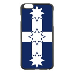 Eureka Flag Apple Iphone 6 Plus/6s Plus Black Enamel Case by abbeyz71