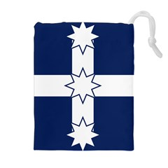 Eureka Flag Drawstring Pouches (extra Large) by abbeyz71