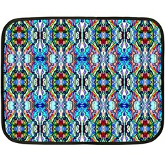 Artwork By Patrick Colorful 34 Double Sided Fleece Blanket (mini)