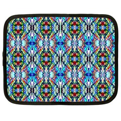 Artwork By Patrick Colorful 34 Netbook Case (xl)
