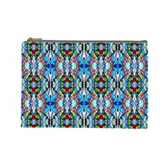 Artwork By Patrick Colorful 34 Cosmetic Bag (large)