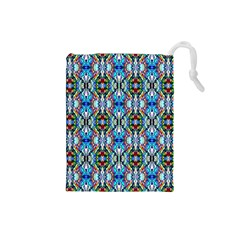Artwork By Patrick Colorful 34 Drawstring Pouches (small)