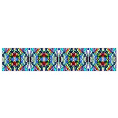 Artwork By Patrick Colorful 34 Flano Scarf (small)