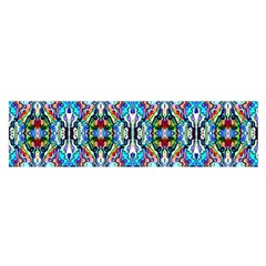Artwork By Patrick Colorful 34 Satin Scarf (oblong)