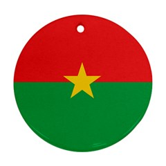 Roundel Of Burkina Faso Air Force Ornament (round)