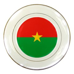 Roundel Of Burkina Faso Air Force Porcelain Plates