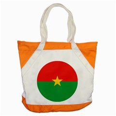 Roundel Of Burkina Faso Air Force Accent Tote Bag