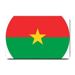 Roundel Of Burkina Faso Air Force Small Doormat  by abbeyz71