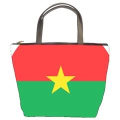 Roundel Of Burkina Faso Air Force Bucket Bags by abbeyz71