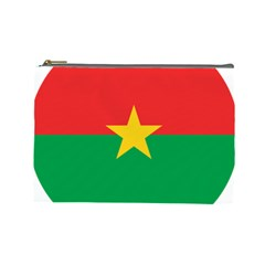 Roundel Of Burkina Faso Air Force Cosmetic Bag (large)