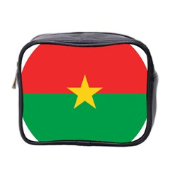 Roundel Of Burkina Faso Air Force Mini Toiletries Bag 2 Side