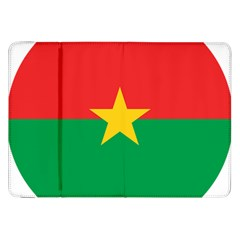 Roundel Of Burkina Faso Air Force Samsung Galaxy Tab 8 9  P7300 Flip Case