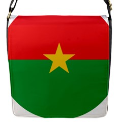 Roundel Of Burkina Faso Air Force Flap Messenger Bag (s) by abbeyz71