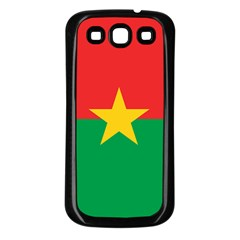 Roundel Of Burkina Faso Air Force Samsung Galaxy S3 Back Case (black)