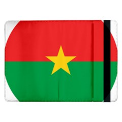 Roundel Of Burkina Faso Air Force Samsung Galaxy Tab Pro 12 2  Flip Case
