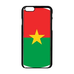 Roundel Of Burkina Faso Air Force Apple Iphone 6/6s Black Enamel Case