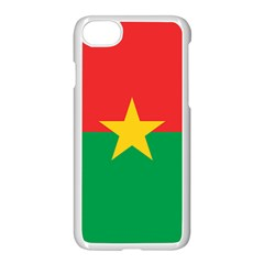 Roundel Of Burkina Faso Air Force Apple Iphone 7 Seamless Case (white) by abbeyz71