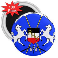 Coat Of Arms Of Upper Volta 3  Magnets (100 Pack)