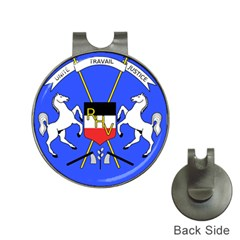 Coat Of Arms Of Upper Volta Hat Clips With Golf Markers