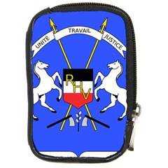 Coat Of Arms Of Upper Volta Compact Camera Cases