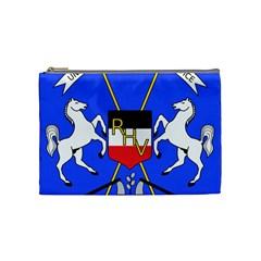 Coat Of Arms Of Upper Volta Cosmetic Bag (medium)