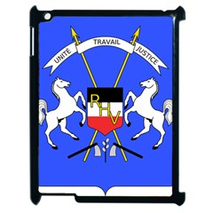 Coat Of Arms Of Upper Volta Apple Ipad 2 Case (black)