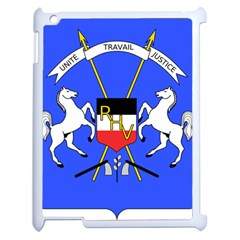 Coat Of Arms Of Upper Volta Apple Ipad 2 Case (white) by abbeyz71