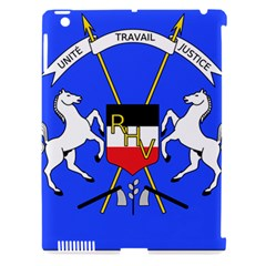 Coat Of Arms Of Upper Volta Apple Ipad 3/4 Hardshell Case (compatible With Smart Cover)