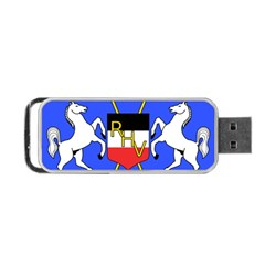 Coat Of Arms Of Upper Volta Portable Usb Flash (one Side)
