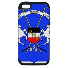 Coat Of Arms Of Upper Volta Apple Iphone 5 Hardshell Case (pc+silicone)
