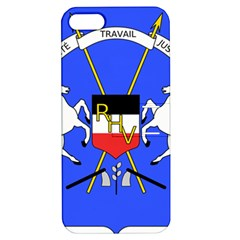 Coat Of Arms Of Upper Volta Apple Iphone 5 Hardshell Case With Stand