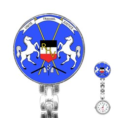 Coat Of Arms Of Upper Volta Stainless Steel Nurses Watch by abbeyz71